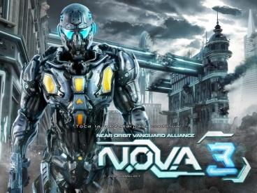 N.O.V.A 3 iPad